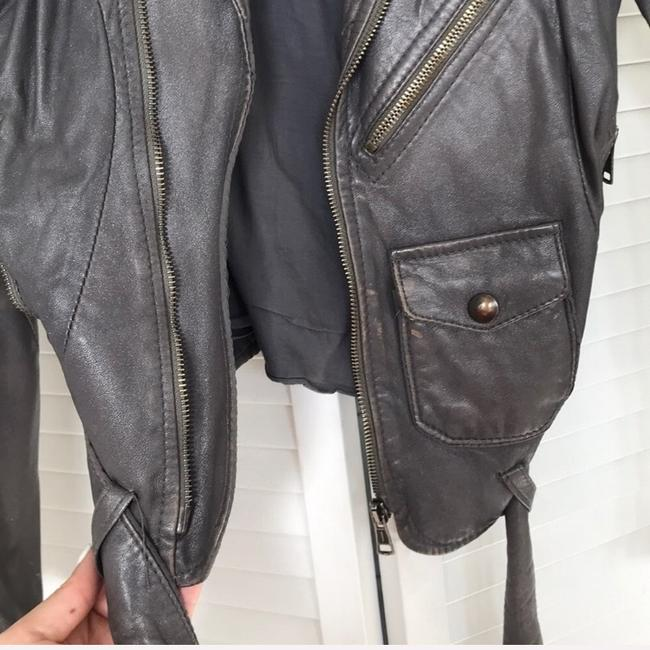 S.w.o.r.d silver Leather Jacket Image 3