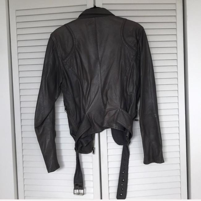 S.w.o.r.d silver Leather Jacket Image 5