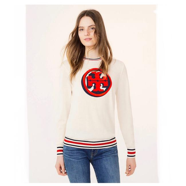 Preload https://img-static.tradesy.com/item/24477299/tory-burch-isabelle-new-ivory-nantucket-red-sweater-0-0-650-650.jpg