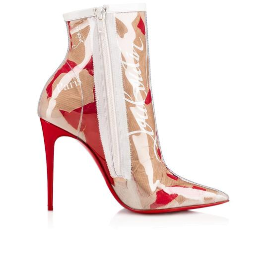 Christian Louboutin Stiletto Lace Gipsybootie Classic nude Boots Image 6