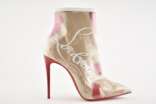 aeec3d683769 ... Christian Louboutin Stiletto Lace Gipsybootie Classic nude Boots Image 1