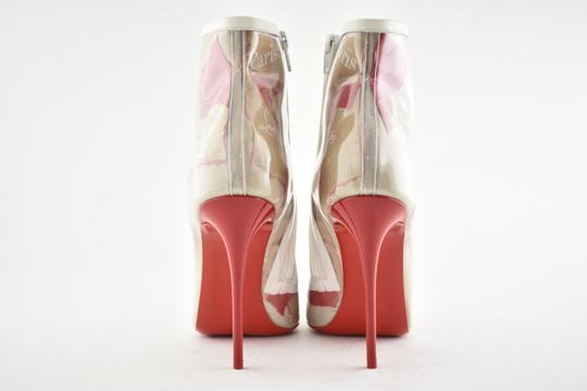 fe685c6340d4 Christian Louboutin Stiletto Lace Gipsybootie Classic nude Boots Image 10