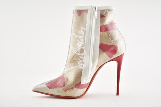 01e0bc92fe6f Christian Louboutin Stiletto Lace Gipsybootie Classic nude Boots Image 7