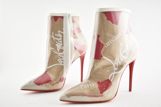 Christian Louboutin Stiletto Lace Gipsybootie Classic nude Boots Image 8