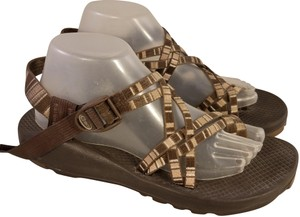 25714153d630 Chaco Woman Style Zx2 Woman Size 10 Vibram Soles Brown and beige Sandals