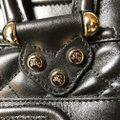 Burberry Leather Quilted Satchel in Black Image 2