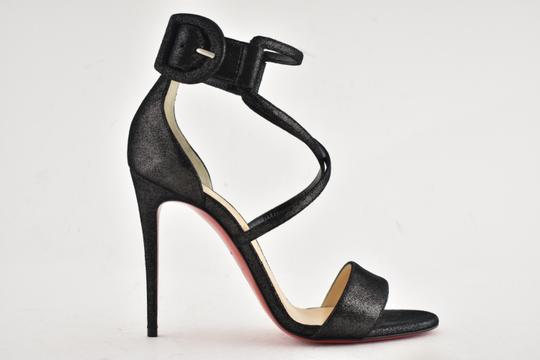 Christian Louboutin Stiletto Classic Choca Crisscross Strap Ankle Strap black Pumps Image 1