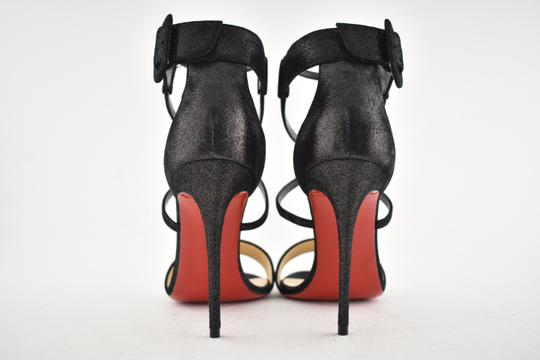 Christian Louboutin Stiletto Classic Choca Crisscross Strap Ankle Strap black Pumps Image 10