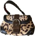 Coach Limited Edition Hair Calf Leather Vintage Satchel in Brown