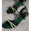 Burberry Forest Green Sandals Image 2