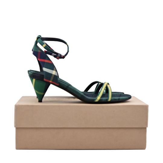 Burberry Forest Green Sandals Image 3