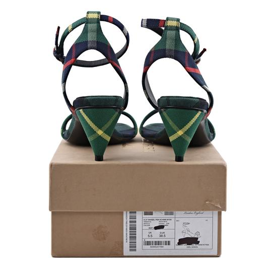 Burberry Forest Green Sandals Image 4