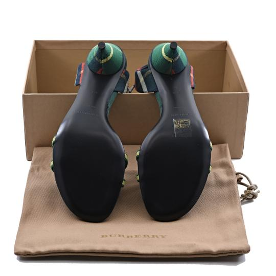 Burberry Forest Green Sandals Image 5
