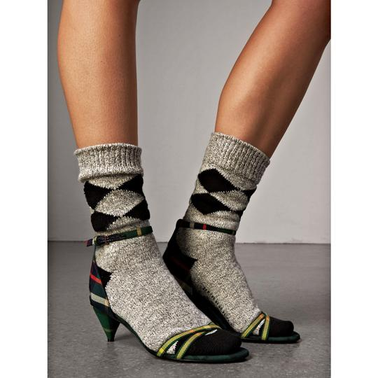 Burberry Forest Green Sandals Image 6