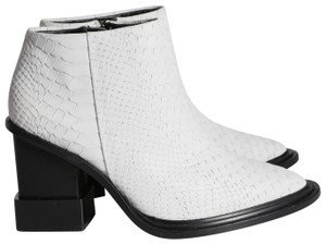 Kat Maconie Pointed Toe White Boots