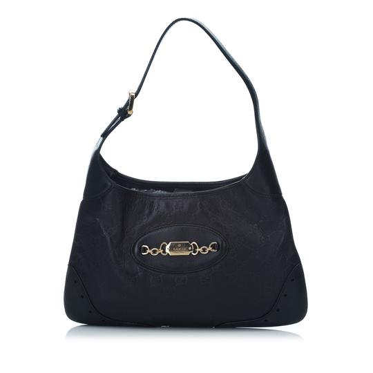 a17957ed8d2 24478267 TS40916A141 8JGUHO003. gucci guccissima punch black leather x  others hobo bag 61% off retail. TRADESY