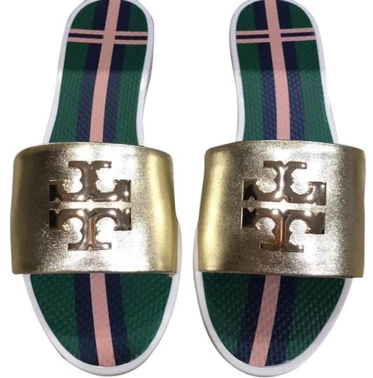 3373fb347e8dc0 Tory Burch New New Colorful New New Fall New Fall spark gold Sandals Image  0 ...