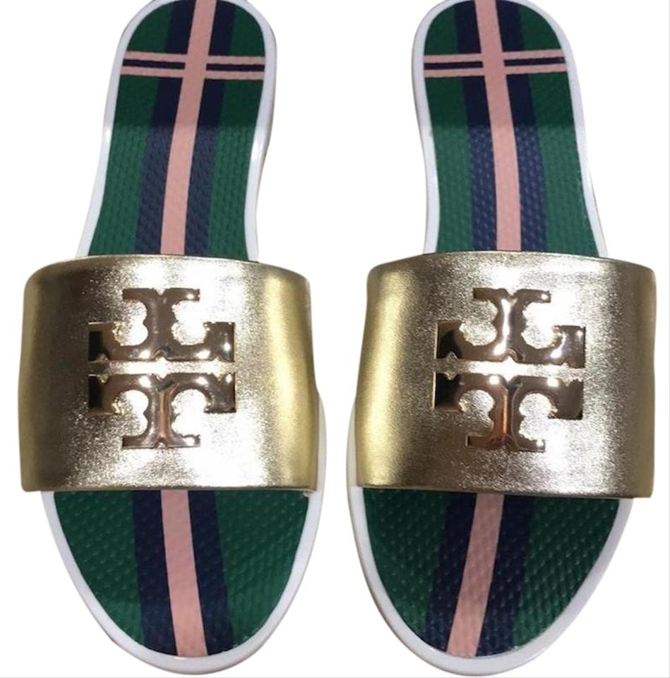 bb0b431594ae Tory Burch New New Colorful New New Fall New Fall spark gold Sandals Image  0 ...