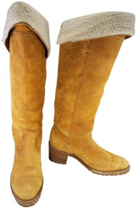 Dingo Woman Campus Tall Riding Size 8 M mustard Boots