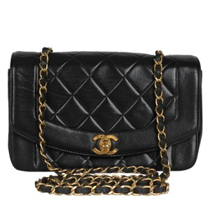Chanel Limited Edition Leather Lambskin Front Flap Canvas Cross Body Bag