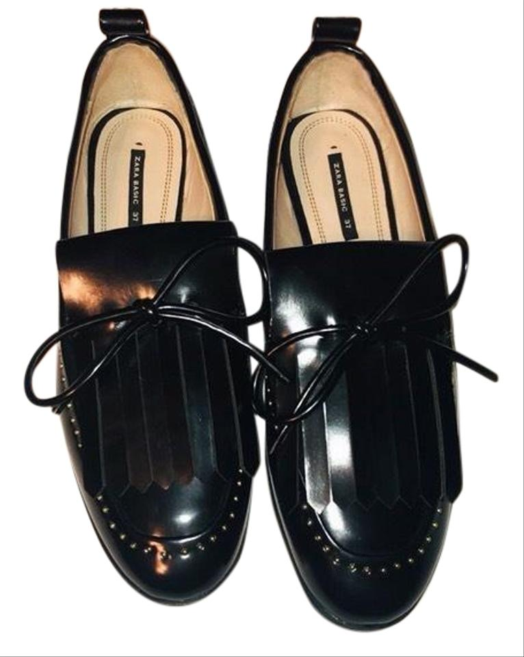 0f72386d605 Zara Penny Loafer with Pearl Detail Flats Size EU 37 (Approx. US 7 ...