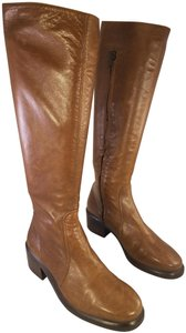 Circa Joan & David Leather Riding Campus Size 7.5 brown Boots