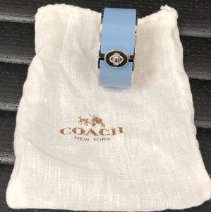 Coach Coach emanuel turnlock hinged bangle