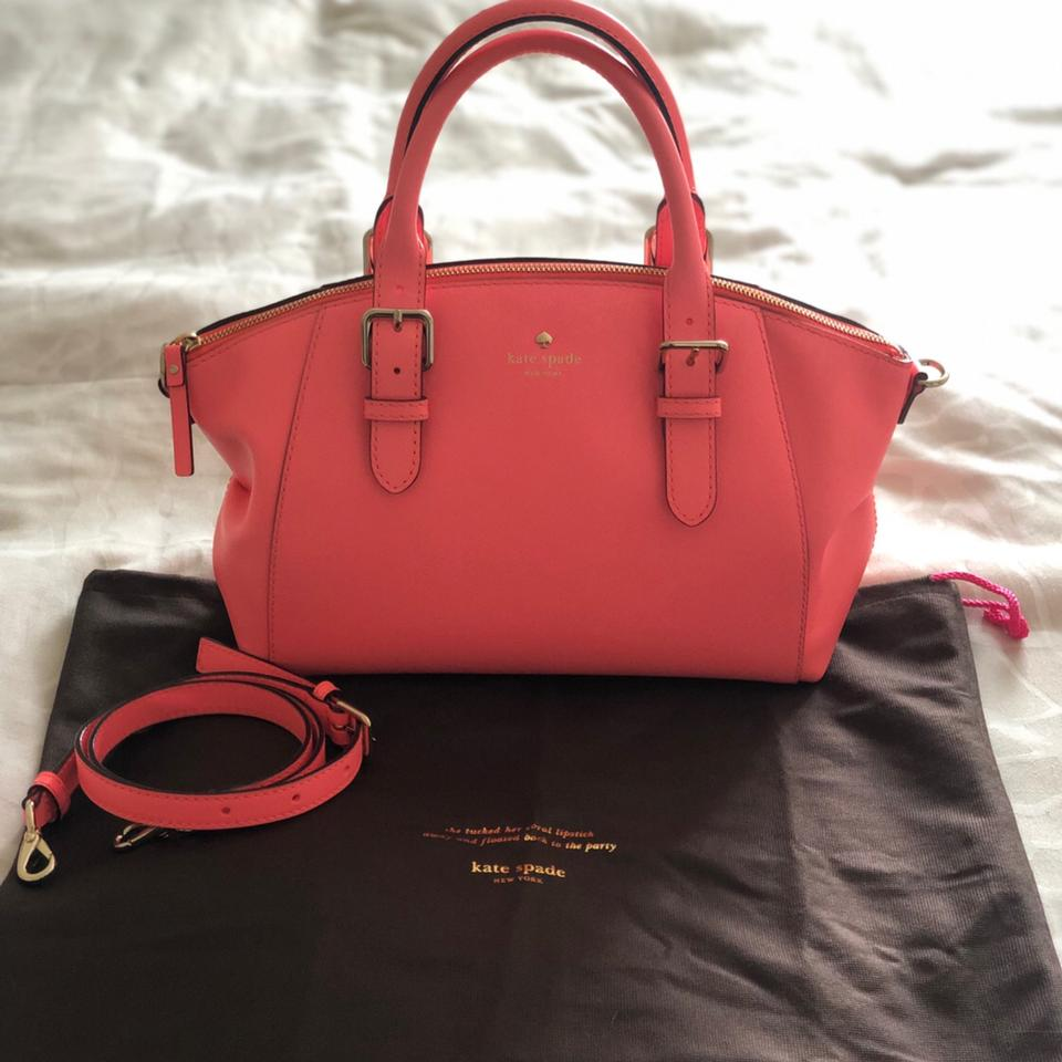 385d7e138f Kate Spade Charlotte Street Small Sloan Pink Tote - Tradesy