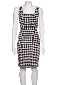 St. John short dress Black & White on Tradesy