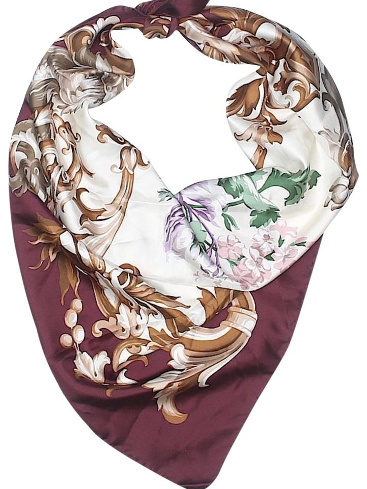 18ba2ad79a9 Brooks Brothers Lavender and Charcoal Multi Society Scarf Wrap - Tradesy