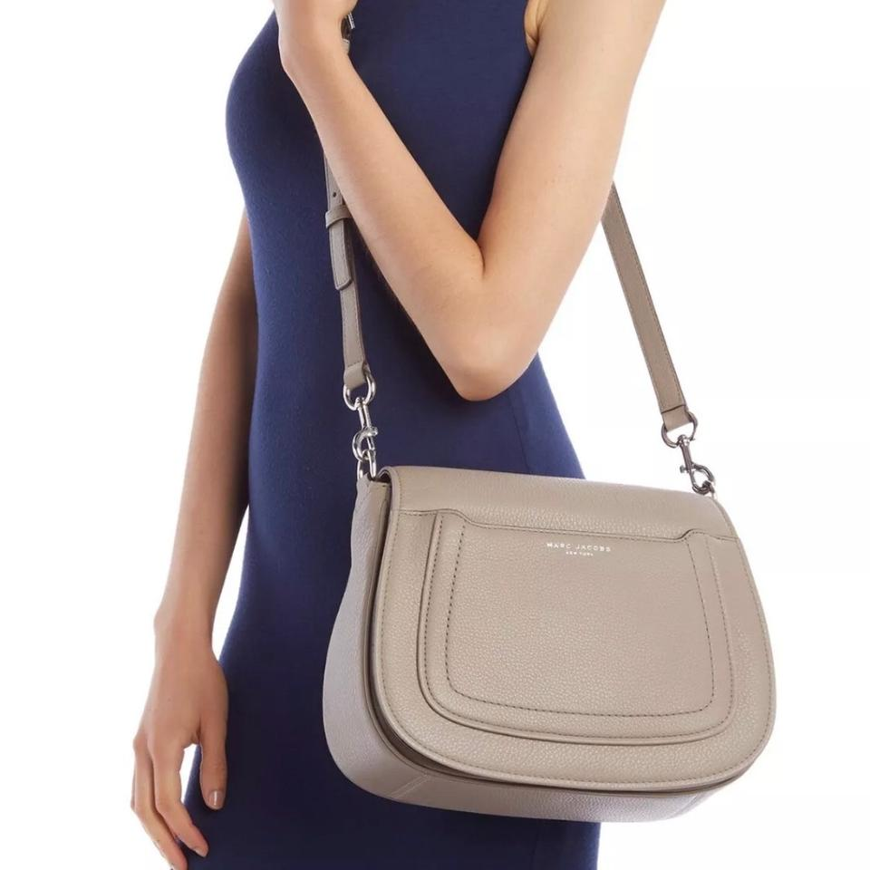 brand new numerousinvariety latest sale Marc Jacobs Messenger Empire City Mink Leather Cross Body Bag 24% off retail
