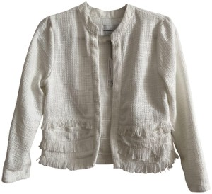 cupcakes and cashmere Jacket Boucle Jacket Tweed Jacket Cropped Jacket Wedding Jacket Ivory Blazer