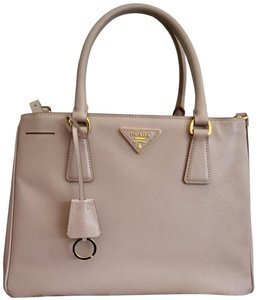 e87cdc3647c655 Prada Crossbody Saffiano Leather Satchel in Cammeo ( Nude color)