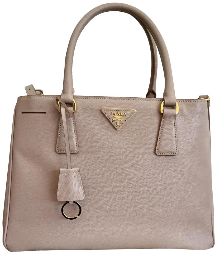 8a786577f446 Prada Crossbody Saffiano Leather Satchel in Cammeo ( Nude color) Image 0 ...