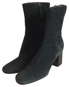 Vicini Luxurious Suede Velour malachite green Boots