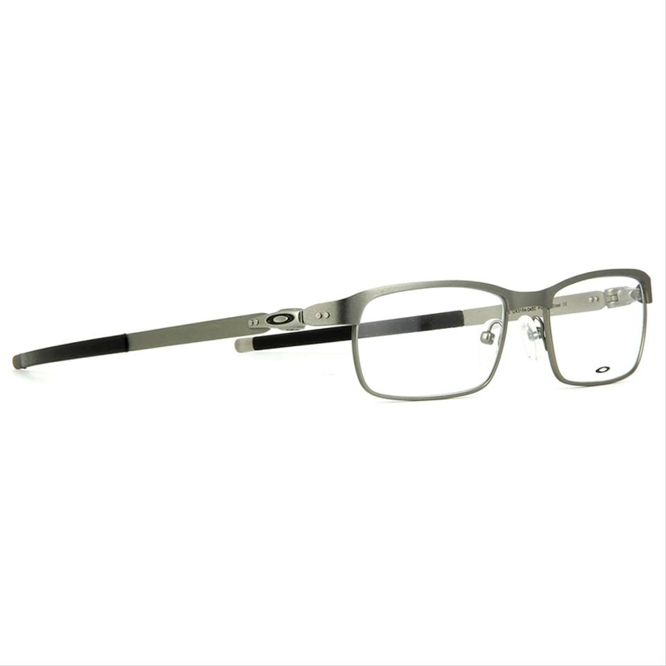9865761b04 Oakley Tincup Powder Steel Frame   Demo Customisable Lens Ox3184 ...