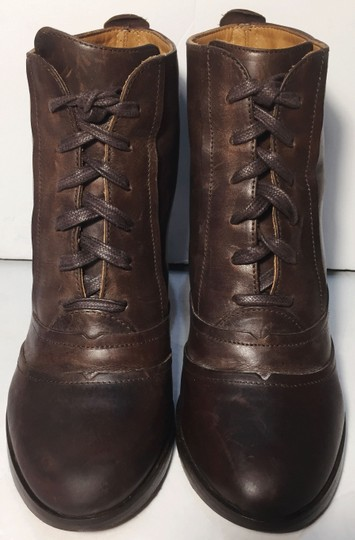 Frye Bella Hi Lace Up Size 7 Women Size 7 Brown Boots