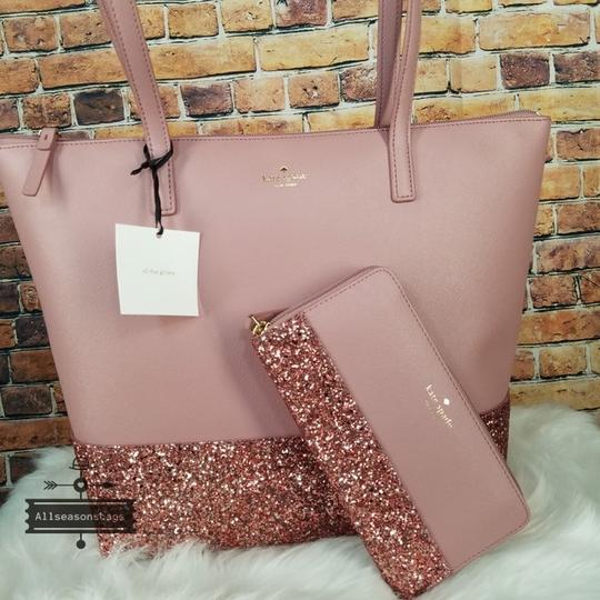 Kate Spade Tote in Dusty Peony