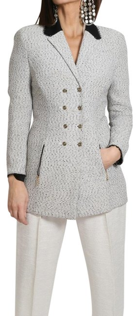 Preload https://img-static.tradesy.com/item/24480420/st-john-gray-collection-button-down-coat-jacket-size-4-s-0-1-650-650.jpg