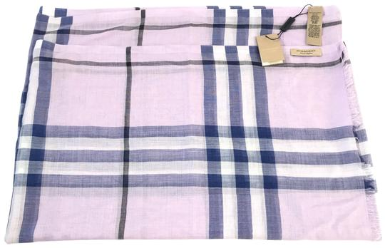Preload https://img-static.tradesy.com/item/24480424/burberry-london-pale-orchid-lightweight-giant-check-wool-and-silk-scarfwrap-0-1-540-540.jpg