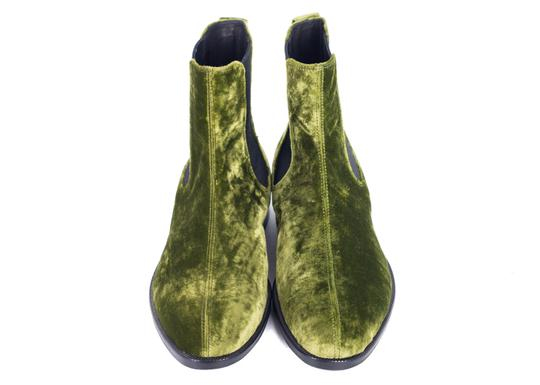 Dries van Noten Green Boots