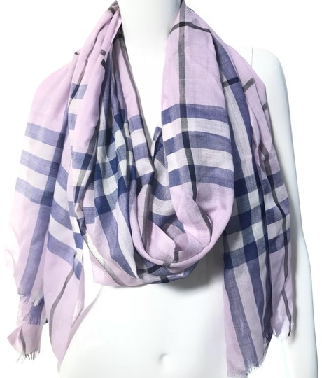Preload https://img-static.tradesy.com/item/24480443/burberry-london-pale-orchid-lightweight-giant-check-wool-and-silk-scarfwrap-0-1-540-540.jpg