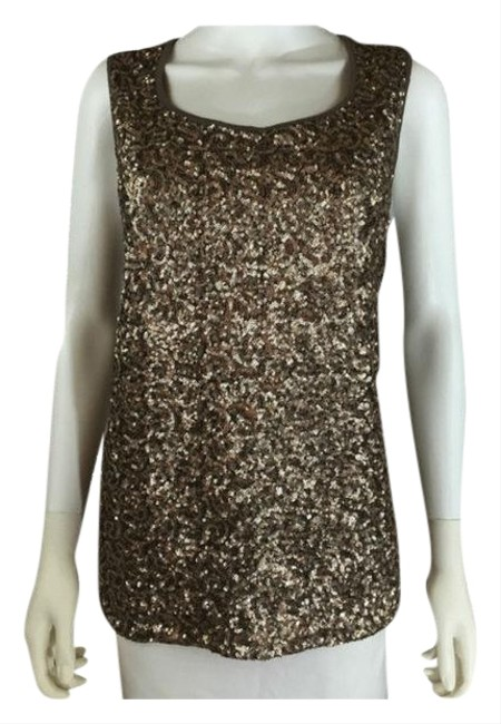 Preload https://img-static.tradesy.com/item/24480452/chico-s-brown-womens-sequin-3-tank-topcami-size-4-s-0-2-650-650.jpg