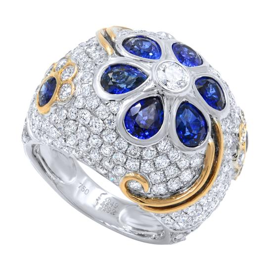 Preload https://img-static.tradesy.com/item/24480469/gavriel-s-jewelry-white-diamond-and-sapphire-pave-encrusted-ring-0-0-540-540.jpg
