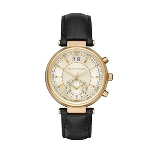 Michael Kors ** Flash- Sale** NWT Michael Kors Black Sawyer Watch MK2433