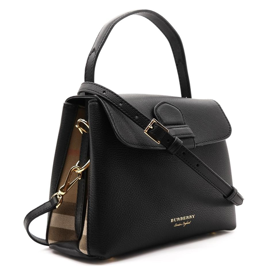 bd093e0059c9 Burberry Derby Camberley Black Leather Tote - Tradesy