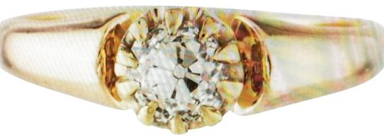 Preload https://img-static.tradesy.com/item/24480472/clear-diamond-old-mine-cut-solitaire-in-rose-gold-14k-ring-0-3-540-540.jpg