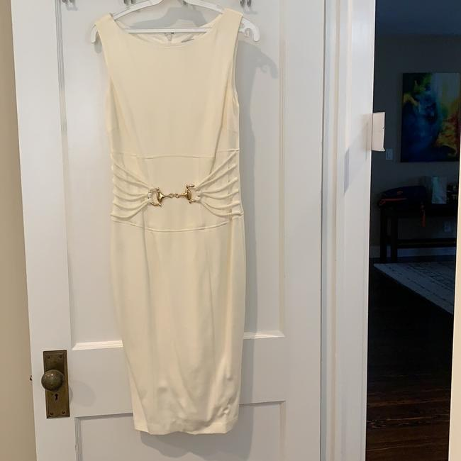 Item - Ivory Cotton and Silk Formal Wedding Dress Size 4 (S)
