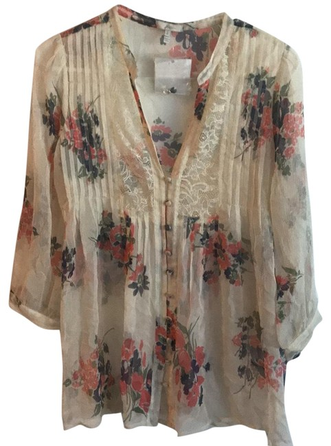 Preload https://img-static.tradesy.com/item/24480484/joie-off-white-with-pink-and-blue-florals-n02-21143-blouse-size-4-s-0-1-650-650.jpg