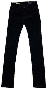AG Adriano Goldschmied Straight Pants Black